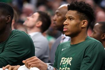 Giannis Antetokounmpo Peeps Stat Sheet When Asked About Marcus Smart