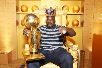 Shaq Extravagantly Announces He'll Be Hosting The 2019 NBA Awards: Video