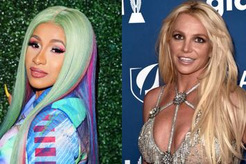 "Cardi B Sends Message To Britney Spears: ""I Love You & Totally Understand"""