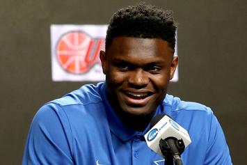 """Zion Williamson Was Reportedly """"Rooting To Go To New York"""""""