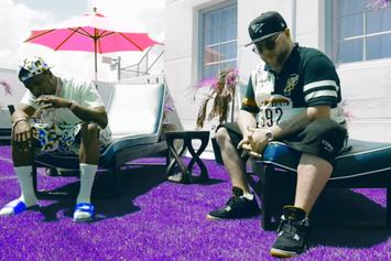 "Curren$y & Statik Selektah Vibe Out In ""Theme Music"" Visuals"