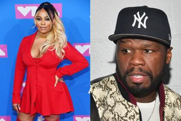"Teairra Mari Finally Agrees To Pay 50 Cent With Parting ""Brokeback"" Jab"