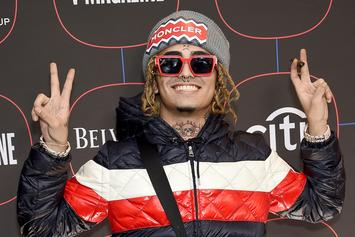 """Lil Pump Catches """"Donkey Of The Day"""" After Smoking At Gas Station"""