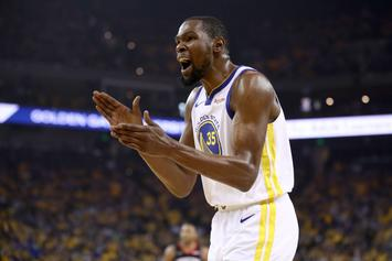 """Kevin Durant Disputes Media's Suggestion That Warriors Are """"Better Without Him"""""""