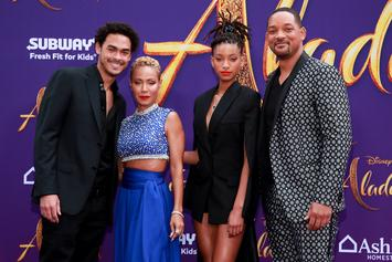 "Will Smith Surprises Moviegoers At ""Aladdin"" Viewing In Calabasas"