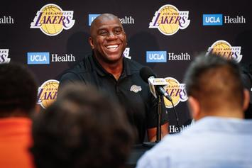 """Magic Johnson Denies Bullying Employees: """"That's Not What I'm About"""""""