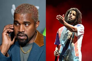 """Kanye West Had A Message For J. Cole On OG """"What Would Meek Do?"""""""