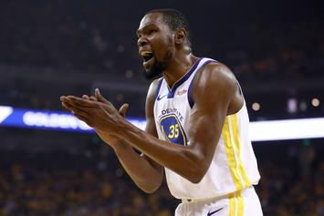 "Kevin Durant Ruled A ""Long Shot"" To Return For Game 2 Of NBA Finals"
