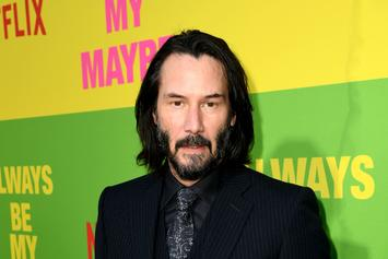 """Keanu Reeves Admits He's A """"Lonely Guy,"""" Says He Doesn't """"Have Anyone"""" In His Life"""