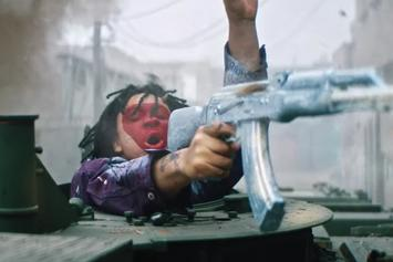 "Trippie Redd Takes Clear Shot At 6ix9ine In ""Under Enemy Arms"""