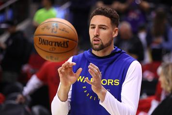 "Warriors Klay Thompson Set For MRI: ""I Don't See Myself Missing Game 3"""