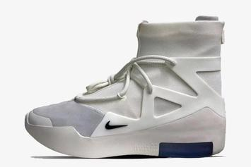 """Nike Air Fear Of God 1 """"Sail/Black"""" Drops This Weekend: First Look"""
