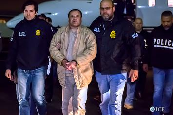Drug Kingpin El Chapo Denied Outdoor Time & Earplugs So He Won't Escape