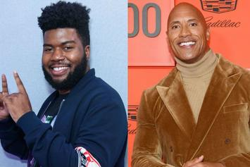 Khalid & Dwayne Johnson Exchange Compliments After First-Time Meeting