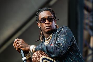 "Young Thug Allegedly Told Journalist He's ""Too Rich To Be Gay"""