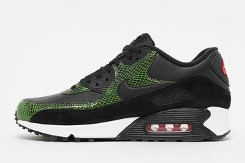 "Nike Air Max 90 ""Green Python"" Release Date, Detailed Images"