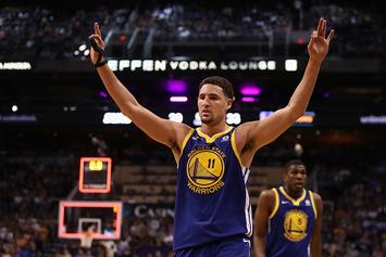 """Klay Thompson """"Locked In"""" For Space Jam 2: Report"""