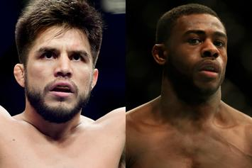 "Aljamain Sterling Challenges Henry Cenjudo, Promises To ""Shove Gold Metal Up His.."""