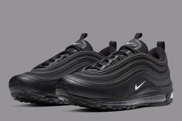 Nike Air Max 97 To Drop In Stealthy Black Colorway: Official Photos
