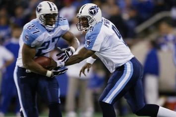 Tennessee Titans Retiring Steve McNair And Eddie George's Numbers