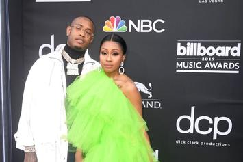 Yung Miami's Boyfriend Southside Shares Video Kissing Her Pregnant Belly