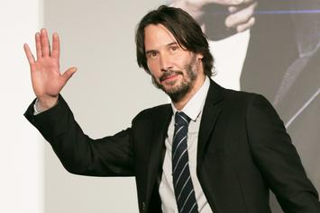 """Keanu Reeves Adoration Blossoms Into """"Man Of The Year"""" Campaign"""