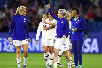 """U.S. Women's Soccer Team Agrees To Hold """"Pay-Equity Mediation"""" After World Cup"""