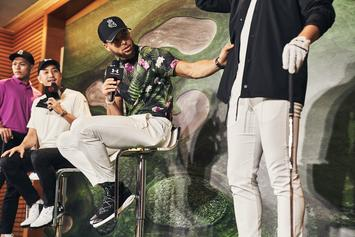 Steph Curry Unveils His Under Armour Golf Collection: First Look
