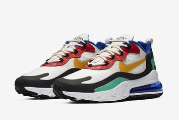 """Nike AIr Max 270 React """"Bauhaus"""" Debuts On July 3rd: Official Images"""