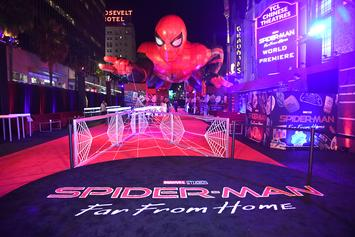 """WATCH: Cast Of """"Spider-Man: Far From Home"""" Visit Children's Hospital"""