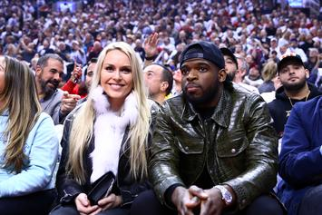 Lindsey Vonn & P.K. Subban Don Matching Bikinis On 4th of July