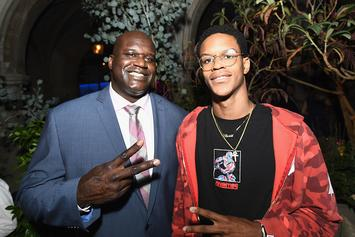 Shareef O'Neal Shows Off Epic Photorealistic Tattoo Of His Dad