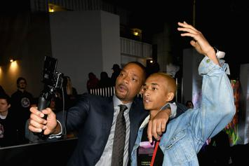 """Will Smith Toasts To Jaden Smith Paying His """"Own Bills"""" At 21st Birthday Celebrations"""