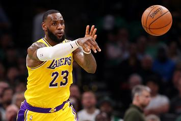 "Lakers' Frank Vogel: ""No Imminent Plan"" To Start LeBron James At PG"