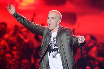 "Eminem Fan Drops Diss Track Against MGK Over ""Floor 13"" ""Wannabe Rappers"" Line"