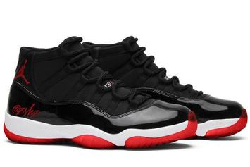"""Air Jordan 11 """"Bred"""" Drops This Winter With OG Details: On-Foot Photos"""