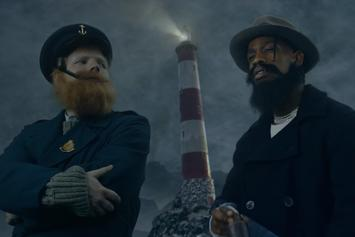 """Ed Sheeran & Travis Scott Dress Up In Crazy Costumes For """"Antisocial"""""""