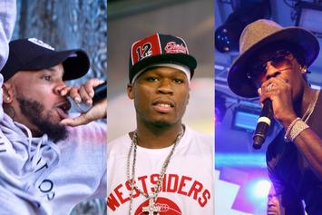 """50 Cent, Young Thug & Tory Lanez Conquer This Week's """"FIRE EMOJI"""" Playlist"""