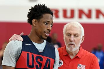 DeMar DeRozan Has Hilarious Reaction To The Old Age FaceApp: Watch