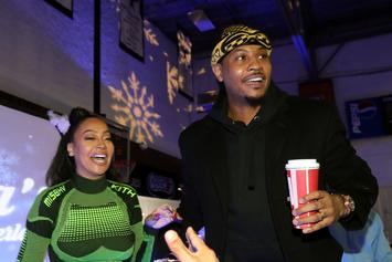 Carmelo Anthony & La La's New Pics Have The City Boyz Back In The Game