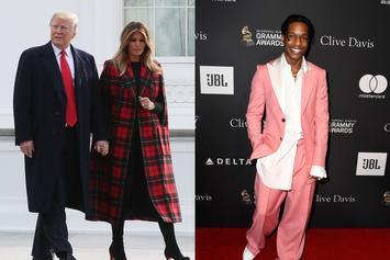 Donald Trump Admits Melania Brought A$AP Rocky's Arrest To His Attention
