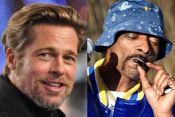 "Snoop Dogg & Brad Pitt Celebrate Bromance: ""Great Man, Great Friend"""