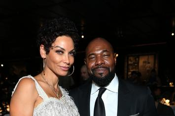 """Nicole Murphy Spotted Kissing Married Man; Says They're Just """"Family Friends"""""""