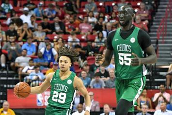 "Boston Celtics Sign 7'6"" Tacko Fall To A Non-Guaranteed Contract"