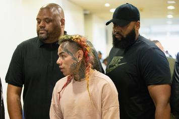 Tekashi 6ix9ine's Girlfriend Teases His Release Date From Jail
