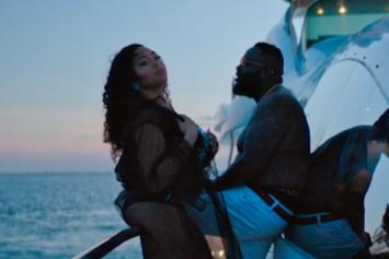 "Rick Ross Releases ""BIG TYME"" Video With Swizz Beatz & Jordyn Woods"