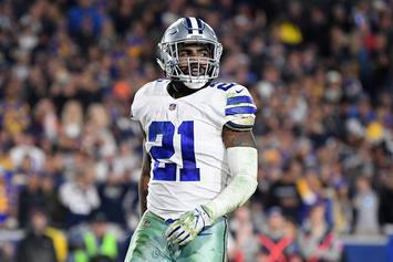 Ezekiel Elliott Holdout Isn't A Concern For Jerry Jones: Report