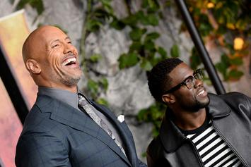 "Kevin Hart Roasts The Rock's Workout Photo: ""It Looks Like You're Wearing A Thong"""