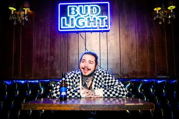 Post Malone Teams Up With Bud Light For Limited Edition Custom Beer Can