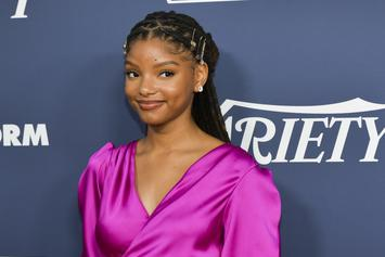 "Halle Bailey Doesn't Have Time For The Negativity Over ""Little Mermaid"" Casting"